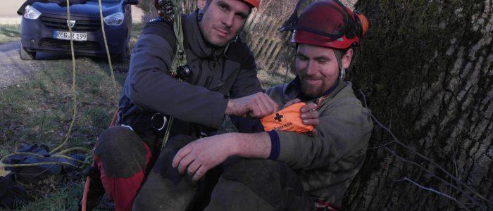 Versorgung - am - Boden - Rettungsübung
