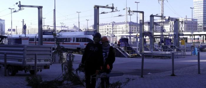Fällung - Holzkirchen - Haupbahnhof - München