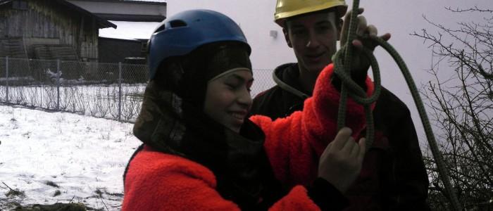 Weiterbildung - Seilklettertechnik - Knoten
