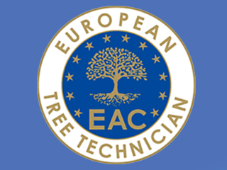 Logo mit Baum, European Tree Technician, European Arboricultural Council